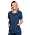 Photograph of WW Core Stretch Women's Round Neck Top Blue WW683-NAVW
