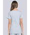 Photograph of Workwear WW Professionals Women Maternity Mock Wrap Top Gray WW685-GRY