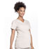 Photograph of WW Professionals Women's Maternity Mock Wrap Top Brown WW685-KAK