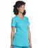 Photograph of Workwear WW Professionals Women Maternity Mock Wrap Top Blue WW685-TLB