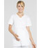 Photograph of Workwear WW Professionals Women's Maternity Mock Wrap Top White WW685-WHT