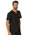 Photograph of WW Revolution Men Men's V-Neck Top Black WW690-BLK