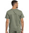 Photograph of WW Revolution Men Men's V-Neck Top Green WW690-OLV