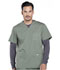 Photograph of Workwear WW Professionals Men Men's V-Neck Top Green WW695T-OLV