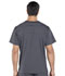 Photograph of Workwear WW Professionals Men Men's V-Neck Top Gray WW695-PWT