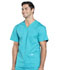 Photograph of Workwear WW Professionals Men's Men's V-Neck Top Blue WW695-TLB