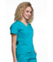 Photograph of Workwear WW Professionals Women's Mock Wrap Top Blue WW705-TLB