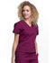Photograph of Workwear WW Professionals Women's Mock Wrap Top Red WW705-WIN