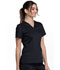 Photograph of WW Revolution Women's V-Neck Top Black WW710-BLK