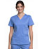 Photograph of WW Revolution Women's V-Neck Top Blue WW710-CIE