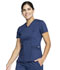 Photograph of WW Revolution Women's V-Neck Top Blue WW710-NAV