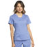 Photograph of WW Revolution Women's V-Neck Top Blue WW735-CIE