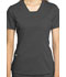 Photograph of WW Revolution Women's V-Neck Top Gray WW735-PWT