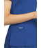 Photograph of WW Revolution Women's V-Neck Top Blue WW735-ROY