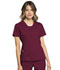Photograph of WW Revolution Women's V-Neck Top Red WW735-WIN