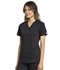 Photograph of WW Revolution Tech Women's Mock Wrap Top Black WW775AB-BLK
