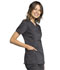 Photograph of WW Revolution Tech Women Mock Wrap Top Gray WW775AB-PWT