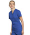 Photograph of WW Revolution Tech Women Mock Wrap Top Blue WW775AB-ROY