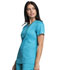 Photograph of WW Revolution Tech Women's Mock Wrap Top Blue WW775AB-TLB