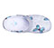 Photograph of Clog Women ZONE Flutter Fantastic on Lt Grey ZONE-FUFN