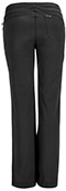 Photograph of Infinity Women Low Rise Straight Leg Drawstring Pant Black 1123A-BAPS