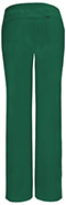 Photograph of Infinity Women's Low Rise Straight Leg Drawstring Pant Green 1123A-HNPS