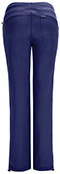 Photograph of Infinity Women Low Rise Straight Leg Drawstring Pant Blue 1123A-NYPS