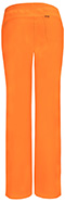 Photograph of Infinity by Cherokee Women's Low Rise Straight Leg Drawstring Pant Orange 1123A-OAPS