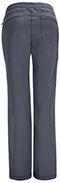 Photograph of Infinity by Cherokee Women's Low Rise Straight Leg Drawstring Pant Gray 1123A-PWPS