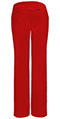Photograph of Infinity Women's Low Rise Straight Leg Drawstring Pant Red 1123A-RED
