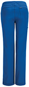 Photograph of Infinity Women's Low Rise Straight Leg Drawstring Pant Blue 1123A-RYPS