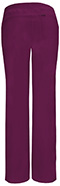 Photograph of Infinity Women's Low Rise Straight Leg Drawstring Pant Red 1123A-WNPS