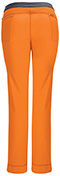 Photograph of Infinity Women's Low Rise Slim Pull-On Pant Orange 1124A-OAPS