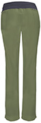 Photograph of Infinity Women's Low Rise Slim Pull-On Pant Green 1124A-OLPS