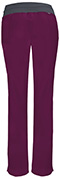 Photograph of Infinity Women Low Rise Slim Pull-On Pant Red 1124A-WNPS