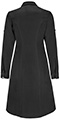 Photograph of Infinity Women's 40 Lab Coat Black 1401A-BAPS