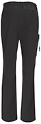 Photograph of Code Happy Bliss Men's Men's Drawstring Cargo Pant Black 16001AB-BXCH