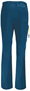 Photograph of Bliss Men Men's Drawstring Cargo Pant Blue 16001AB-RYCH