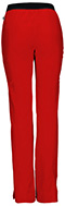 Photograph of Head Over Heels Women's Low Rise Pull-On Pant Red 20101A-RDHH