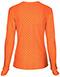 Photograph of HeartSoul Women's Long Sleeve Underscrub Knit Tee Orange 20801-NEVO