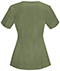 Photograph of Cherokee Infinity Women's Round Neck Top Green 2624A-OLPS