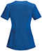 Photograph of Infinity by Cherokee Women's Round Neck Top Blue 2624A-RYPS
