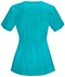 Photograph of Infinity by Cherokee Women's Round Neck Top Blue 2624A-TLPS