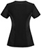 Photograph of Infinity Women Mock Wrap Top Black 2625A-BAPS