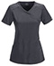 Photograph of Infinity by Cherokee Women's Mock Wrap Top Gray 2625A-PWPS