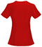 Photograph of Infinity Women Mock Wrap Top Red 2625A-RED