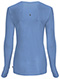 Photograph of Infinity Women Long Sleeve Underscrub Knit Tee Blue 2626A-CIPS