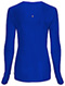 Photograph of Infinity Women's Long Sleeve Underscrub Knit Tee Blue 2626A-GAB