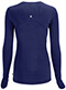 Photograph of Infinity Women Long Sleeve Underscrub Knit Tee Blue 2626A-NYPS