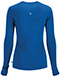 Photograph of Infinity Women's Long Sleeve Underscrub Knit Tee Blue 2626A-RYPS